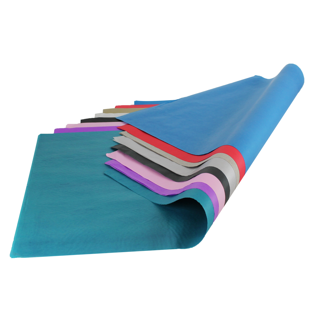 plain coloured tissue paper