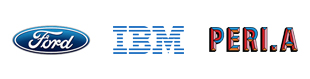 Roberts clients. Ford, IBM, Peri A