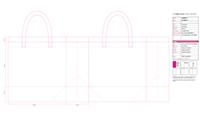 Preview of Non-Woven Bag Artwork Template