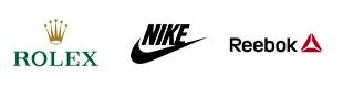 Matthews clients. Rolex, Nike, Reebok