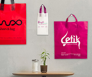 Flexi Loop Plastic Bags
