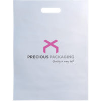 Patch Handle Plastic Bags
