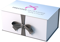 Printed Ribbon Seal Box
