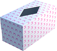Printed Two-Piece Shoulder Boxes
